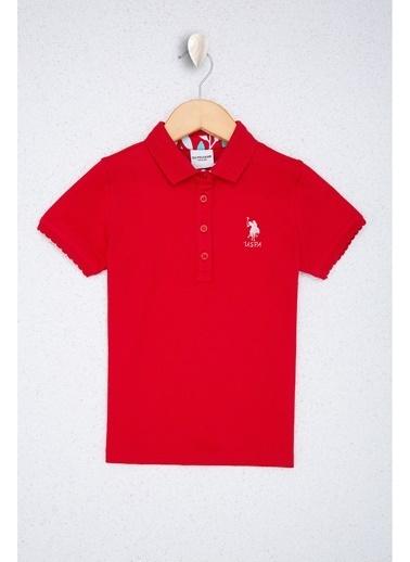 U.S. Polo Assn. U.S. Polo Assn. Kırmızı Kız Çocuk T-Shirt Kırmızı